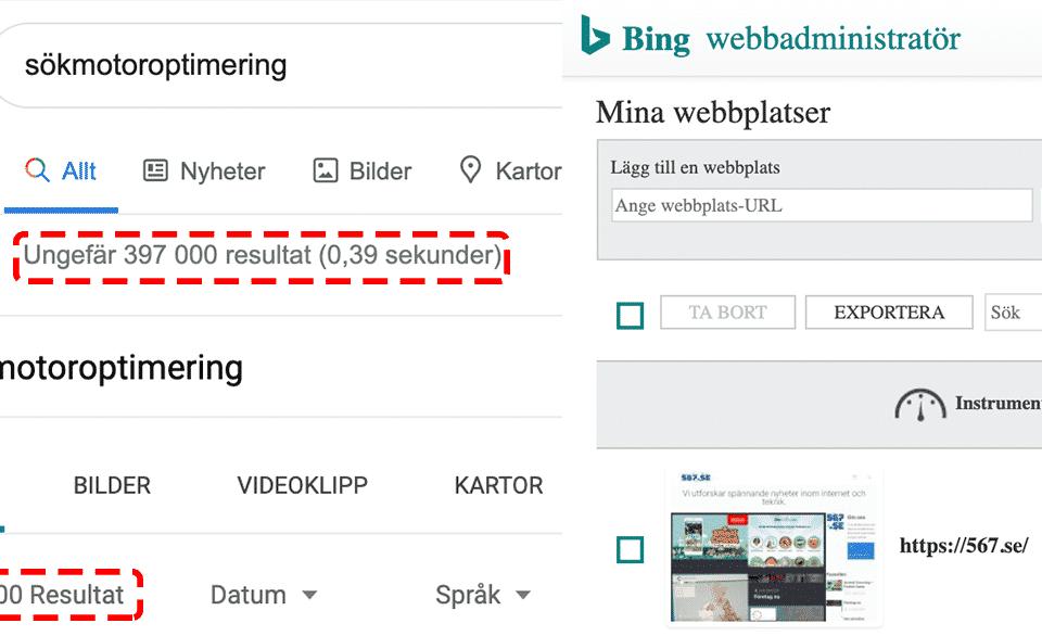 Bing sökmotor