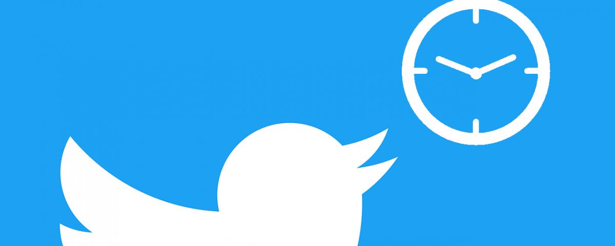 Twitter schemaläggning